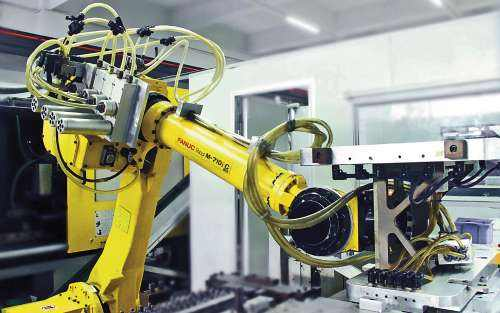 Industrial robots may create a new era of PLC